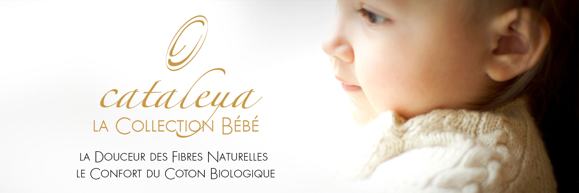 Collection de maille pour bébé Cataleya